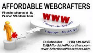 Affordable Webcrafters Biz Card